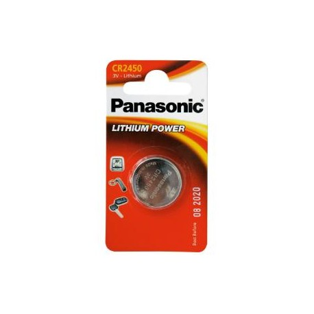 Pile CR2450 Lithium 3V PANASONIC