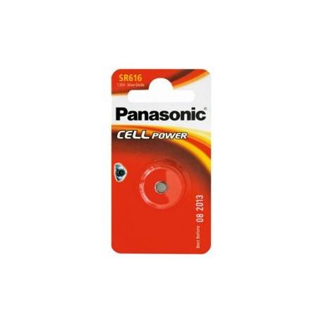 Pile pour montre SR616 1,55V PANASONIC