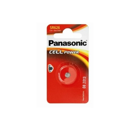 Pile pour montre SR626 1,55V PANASONIC