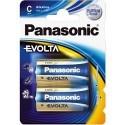 2 Piles C 1,5V EVOLTA PANASONIC