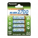 4 Accus AA 2700 PANASONIC