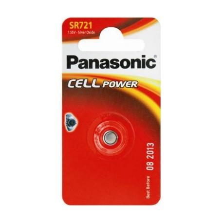 Pile pour montre SR721 1,55V PANASONIC