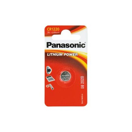 Pile CR1220 3V PANASONIC