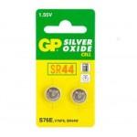 2 Piles bouton SR44 303/357 Oxyde d'argent