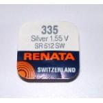 Pile bouton SR512SW 335 Oxyde d'argent