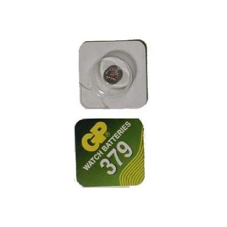 Pile bouton SR63 379 Oxyde d'argent
