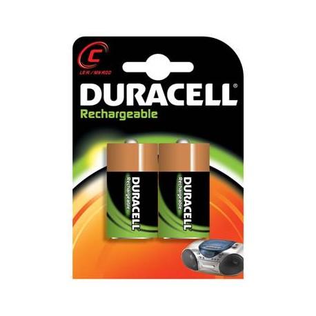 2 Accus C 2200 NIMH DURACELL