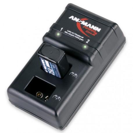 Chargeur de piles 9V Powerline 2 ANSMANN
