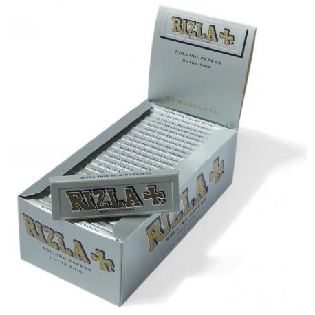 Feuilles à rouler RIZLA+ petites boite de 50 paquets