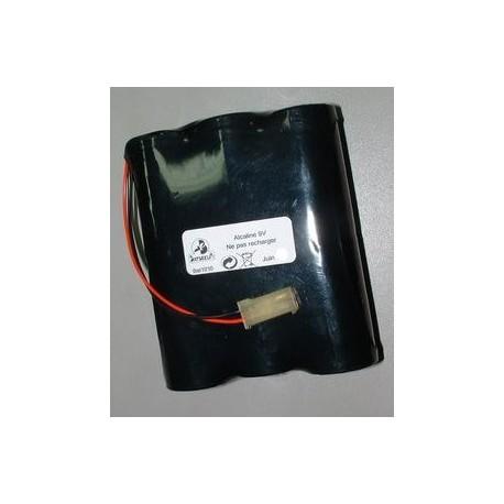 Pile 861010 BAT1010 Alcaline 9V 18Ah pour alarme SILENTRON
