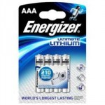 4 Piles AAA LR3 Lithium 1.5V ENERGIZER