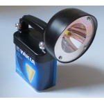lampe phare VARTA led worklight 4lr25 2