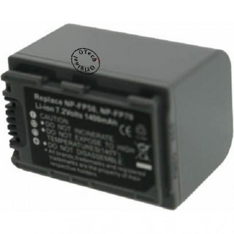 Batterie pour NP-FP70 Grey 7.4V Li-Ion 1300mAh