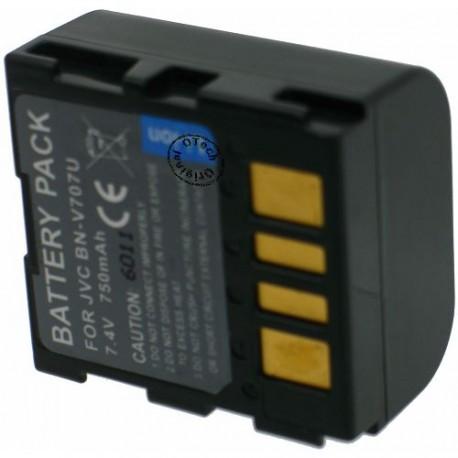 Batterie pour JVC BN-VF707U 7.2V Li-Ion 800mAh
