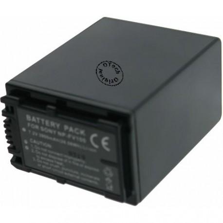Batterie pour NP-FV100 7,4V Li-Ion 3900mAh