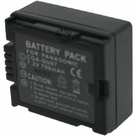 Batterie pour CGA-DU14 7.2V Li-Ion 1800mAh