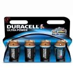 4 Piles LR14 C Alcaline 1.5V DURACELL ULTRA POWER