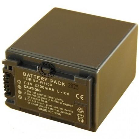 Batterie pour SONY NP-FH100 7.4V Li-Ion 3300mAh
