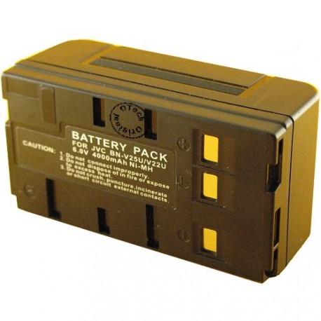 Batterie pour BN-V25U / V22U (3 contacts) black 6V Ni-Mh 4000mAh