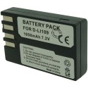 Batterie pour PENTAX D-LI109 7.4V Li-Ion 1050mAh