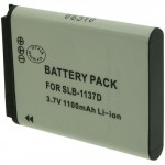 Batterie pour SAMSUNG SLB-1137D 3.7V 1100mAh