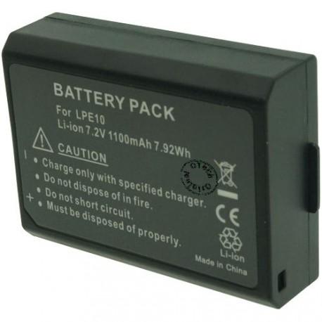 Batterie pour CANON LP-E10 7.2V Li-Ion 1100mAh