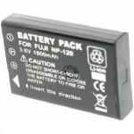 Batterie pour FUJIFILM NP-120 black 3.7V Li-Ion 1700 / 1800mAh