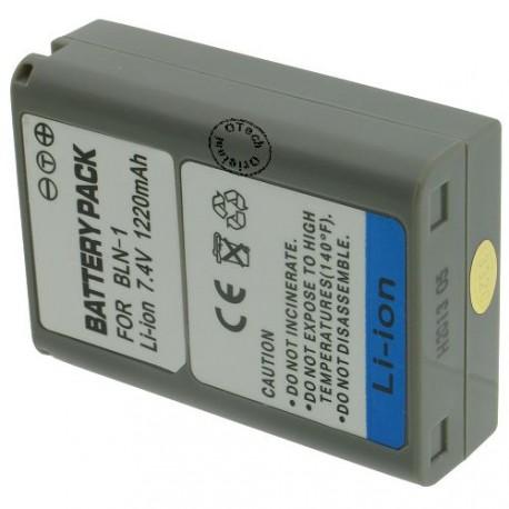Batterie pour OLYMPUS BLN-1 7.4V 1020mAh