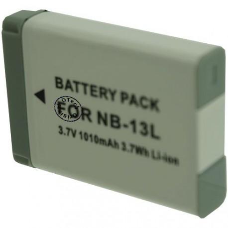 Batterie pour CANON NB-13L 3.7V Li-Ion 1010mAh