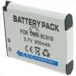 Batterie pour PANASONIC DMW-BCN10 3.7V Li-Ion 900mAh