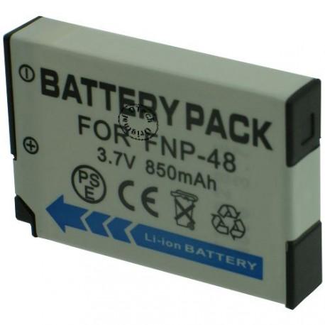 Batterie pour FUJIFILM NP-48 3.7V Li-Ion 850mAh