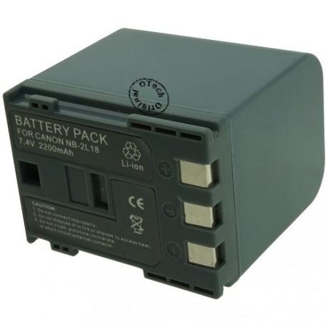 Batterie pour CANON NB-2L18 7.4V Li-Ion 2200mAh