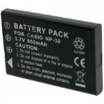 Batterie pour FUJIFILM NP-60 / CAS NP-30 3.7V 1150mAh