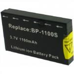 Batterie pour BP-1100S Black 3.7V Li-Ion 1100mAh