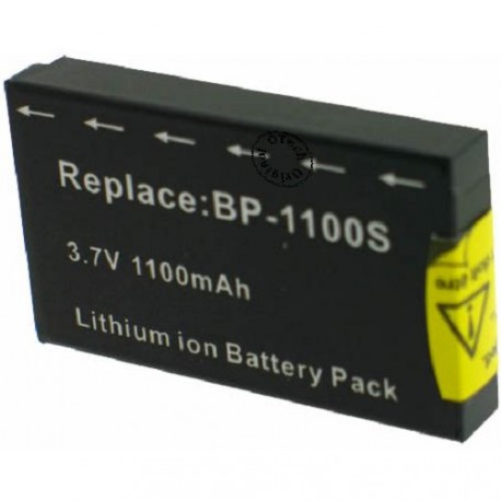 Batterie pour BP-1100S Black 3.7V Li-Ion 1100mAh