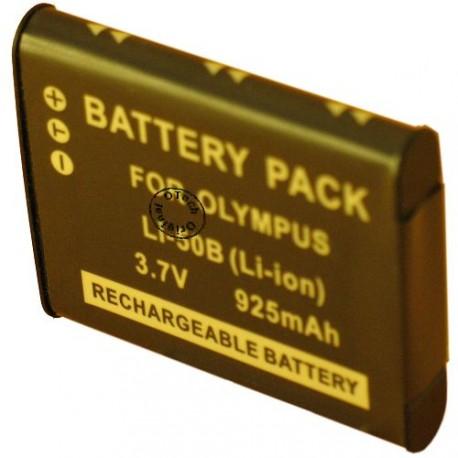 Batterie pour OLYMPUS LI-50B 3.7V Li-Ion 1000mAh