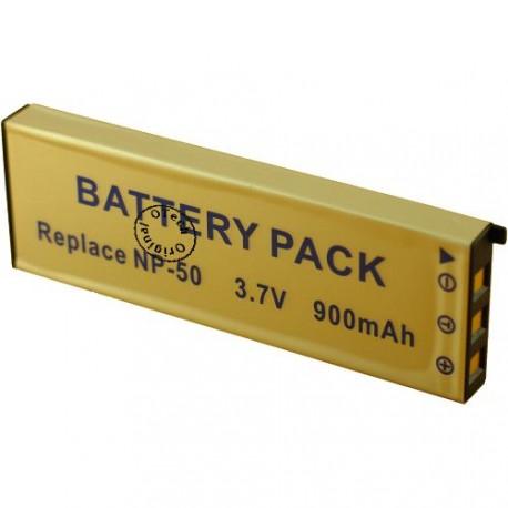 Batterie pour CASIO NP-50 3.7V Li-Ion 900mAh