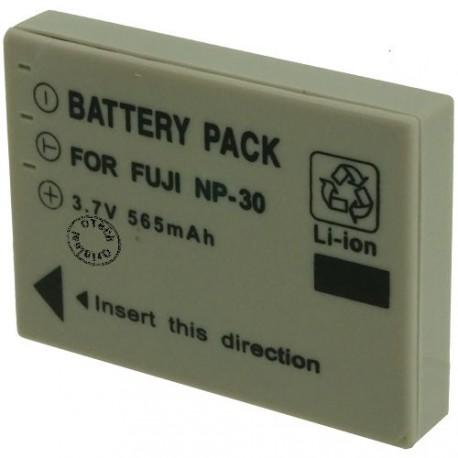 Batterie pour FUJIFILM NP-30 3.7V Li-Ion 565mAh