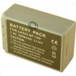 Batterie pour CASIO NP-100 7.4V Li-Ion 2000mAh