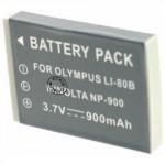 Batterie pour MINOLTA NP-900 3.7V Li-Ion 800mAh