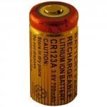 Batterie pour CR123A 3.6V Li-Ion 1300mAh