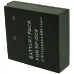 Batterie pour LEICA BP-DC8 3.7V Li-Ion 1300mAh