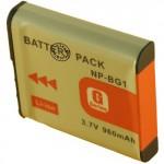 Batterie pour SONY NP-BG1 3.7V Li-Ion 960mAh