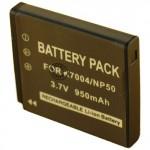 Batterie pour KODAK  KLIC-7004 3.7V Li-Ion 1400mAh