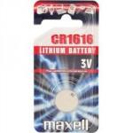 Pile bouton CR1616 Lithium 3V MAXELL