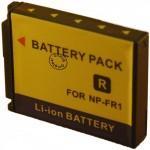 Batterie pour NP-FR1 3.6 / 3.7V Li-Ion 1250 / 1300mAh