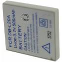 Batterie pour DB-L20 3.7V Li-Ion 750mAh