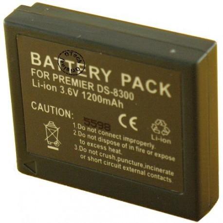 Batterie pour PREMIER DS8330 / DC-8300 / DP-8300 3.7V Li-Ion 900 / 1200mAh
