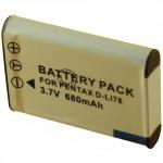 Batterie pour NIKON  EN-EL11 3.7V Li-Ion 680mAh