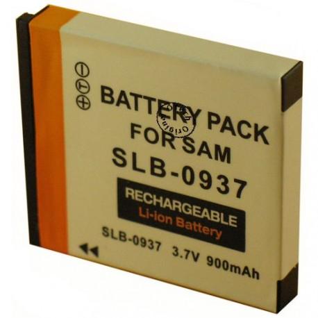Batterie pour SAMSUNG SLB-0937 3.7V Li-Ion 900mAh